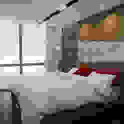 Habitacion Tipo Arq.AngelMedina+ Cuartos de estilo minimalista Madera Gris