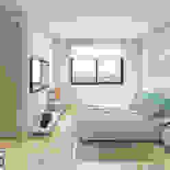 Area5 arquitectura SAS Modern style bedroom Beige