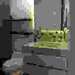 Baño Social Baños de estilo moderno de ea interiorismo Moderno Mármol