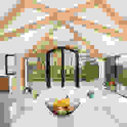 Barn Living Moderne woonkamers van Bureau Fraai Modern