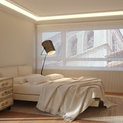 Habitación en 3D homify Dormitorios modernos