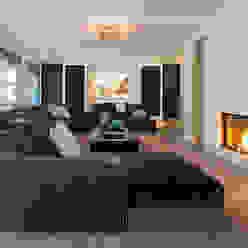 Villa in 't Gooi Moderne woonkamers van Designa Interieur & Architectuur BNA Modern