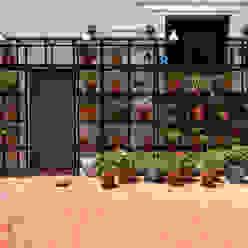 Patio: Terrazas de estilo  por Matealbino arquitectura,