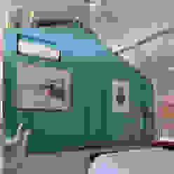 Dorrego: Dormitorios de estilo  por Matealbino arquitectura,