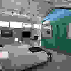 Dormitorio: Dormitorios de estilo  por Matealbino arquitectura,