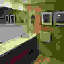 Baño: Baños de estilo  por Matealbino arquitectura,