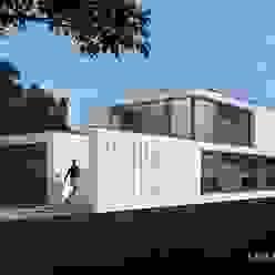 Dieses Modernhaus ist einfach anders. Moderne Häuser von LK&Projekt GmbH Modern
