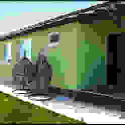 Экстерьер и интерьер бани в царевщине Студия архитектуры и дизайна Вояджи Дарьи Дома в стиле модерн
