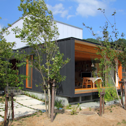 白鷹の家/SNOW LIGHT HOUSE: アーキテクチュアランドスケープ一級建築士事務所が手掛けた家です。,モダン