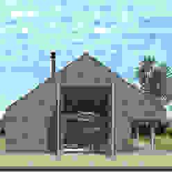 Casas de estilo minimalista de Koezen Architecten Minimalista
