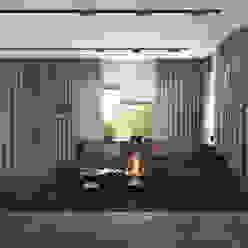 3D GROUP Phòng khách phong cách tối giản