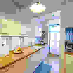 Espaço Mínimo Cocinas de estilo ecléctico