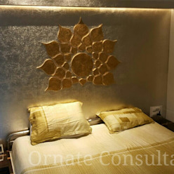 Luxurious Residence at Walkeshwar Modern style bedroom by Ornate Consultants Modern