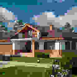 Марини_256 кв.м. Vesco Construction Дома в скандинавском стиле