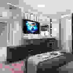 Studio. The kitchen and living room Гостиные в эклектичном стиле от Your royal design Эклектичный