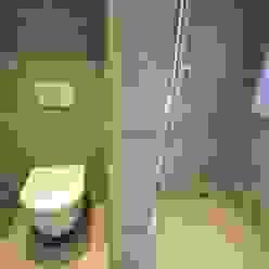 AGZ badkamers en sanitairが手掛けた浴室