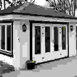 Log Cabin Moderner Garten von Garden Affairs Ltd Modern Holz Holznachbildung