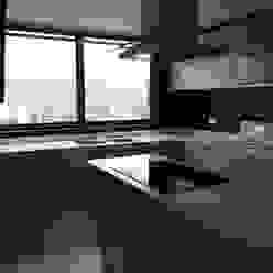 cocina BLUE POLYGON C.A. Cocinas de estilo minimalista