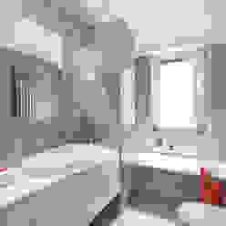 Paolo Fusco Photo Modern Bathroom Grey