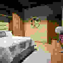 Casa Bunker Con Contenedores S.A. de C.V. Dormitorios modernos
