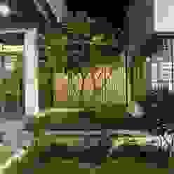 Kasliwal bungalows 4th axis design studio Minimalist style garden