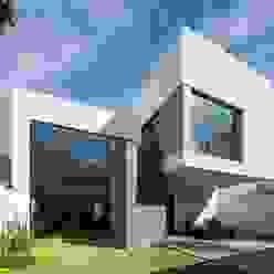 Fachada Casas modernas de URBN Moderno