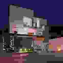 Projekty,  Domy zaprojektowane przez URBN, Minimalistyczny