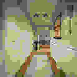 İ&M YILDIZ EVİ Modern Koridor, Hol & Merdivenler yücel partners Modern