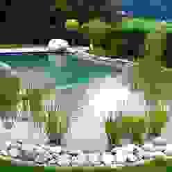 Piscinas de estilo rural de Bio Göl Havuz (Biyolojik Gölet ve Havuz Yapısalları) Rural