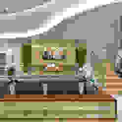 Casa Villa Salas multimídia modernas por Designer de Interiores e Paisagista Iara Kílaris Moderno Mármore
