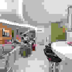 Casa Villa Salas de estar modernas por Designer de Interiores e Paisagista Iara Kílaris Moderno