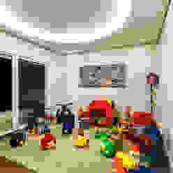 Casa Villa Quarto infantil moderno por Designer de Interiores e Paisagista Iara Kílaris Moderno