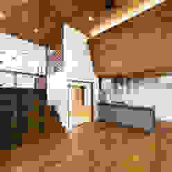 中村建築研究室 エヌラボ(n-lab) Salones rurales Madera Acabado en madera
