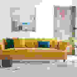 modern  von Loaf, Modern Textil Bernstein/Gold