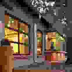 The Oak Tree Studio, Bloemfontein Industrial style houses by Reinier Brönn Architects & Associates Industrial