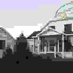 Разумное использование пространства Компания архитекторов Латышевых 'Мечты сбываются' Дома в стиле кантри