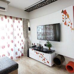 Last View of the Living Room Modern living room by homify Modern
