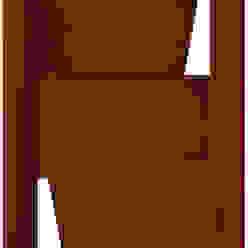 Modelo Etna Puertas y ventanas modernas de Ignisterra S.A. Moderno Madera Acabado en madera