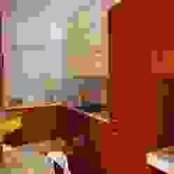 cucina in teak su misura Frigerio Paolo & C. CucinaContenitori & Dispense Legno