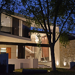 casaNE Casas modernas de BAG arquitectura Moderno Vidrio