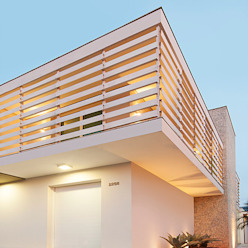 Modern houses by THEROOM ARQUITETURA E DESIGN Modern