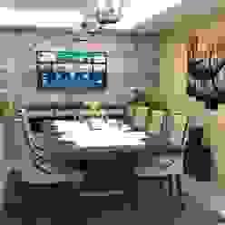 Area de Comedor Atahualpa 3D Comedores de estilo moderno