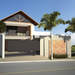 Casa BT Casas modernas por Lozí - Projeto e Obra Moderno