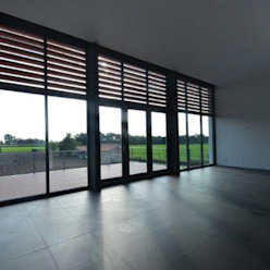 Black & White Moderne woonkamers van ENA architecten Modern