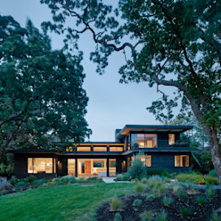 Portola Valley Ranch:  Houses by Feldman Architecture, Modern Wood Wood effect