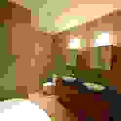 Brooklyn Brownstone Modern Bathroom by SA-DA Architecture Modern