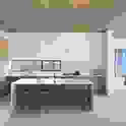 The Lantern House Modern Kitchen by Feldman Architecture Modern