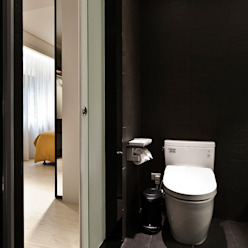 BRAVO INTERIOR DESIGN & DECO JIA STYLE 現代浴室設計點子、靈感&圖片 根據 璞碩室內裝修設計工程有限公司 現代風
