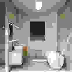Mediterrane badkamers van GESTEC. Arquitectura & Ingeniería Mediterraan