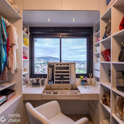 Closet Feminino Camila Chalon Arquitetura Closets